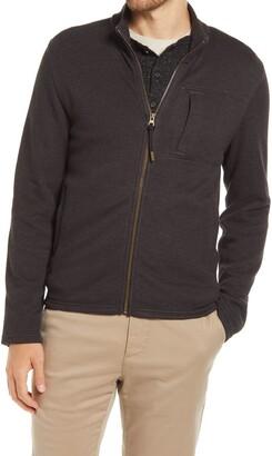 Billy Reid Pique Pima Cotton Blend Jacket