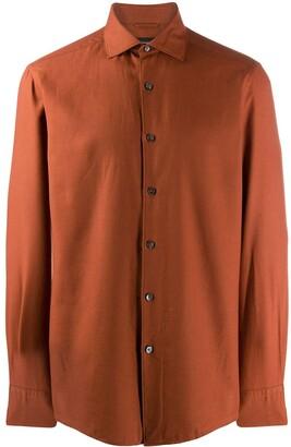 Ermenegildo Zegna Spread Collar Shirt