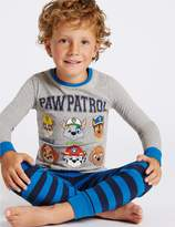 Marks and Spencer Paw Patrol Cotton Rich Pyjamas (1-6 Years)