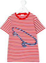 Il Gufo striped skate print T-shirt - kids - Cotton/Elastodiene - 2 yrs