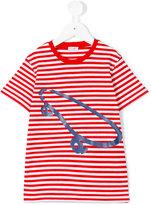 Il Gufo striped skate T-shirt - kids - Cotton/Elastodiene - 2 yrs