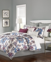 Martha Stewart CLOSEOUT! Collection Austen 9-Pc. Full Comforter Set