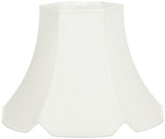 "Alcott Hillâ® 14"" Silk/Shantung Bell Lamp Shade Alcott HillA Color: White"
