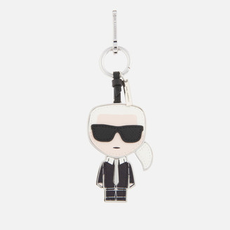 Karl Lagerfeld Paris Women's K/Ikonik Keychain - Black/White