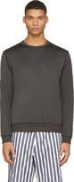 08sircus Olive Drab Technical Jersey Sweatshirt