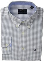 Nautica Men's Graph Check Dress Shirt