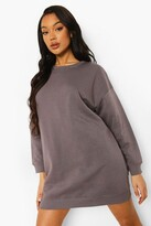 Thumbnail for your product : boohoo Loose Fit Sweater Dress