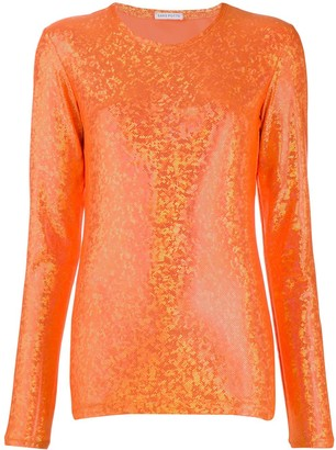 Saks Potts shimmer top