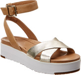 UGG Women's Tipton Metallic Leather Sandal