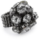 "Kenneth Cole New York ""Downtown Pearl"" Cluster Stretch Ring, Size 7.5"