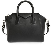 Givenchy 'Small Antigona' Leather Satchel - Black