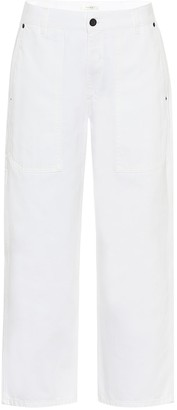 The Row Hester high-rise straight jeans