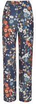 Love **floral wide leg trousers