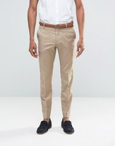 Selected Suit Pants In Sand