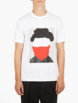 Marni White Printed Cotton T-Shirt
