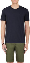 Vince Men's Mouline-Knit T-Shirt-NAVY