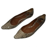 Chloé Camel Exotic leathers Flats