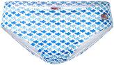 MC2 Saint Barth fish print swim trunks - men - Polyamide/Polyester/Spandex/Elastane - S