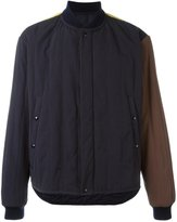 Marni colour block padded bomber jacket - men - Cotton/Polyamide/Polyester - 46