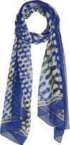 Medea silk-chiffon scarf