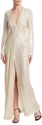 Galvan Moonlight Sequin Gown