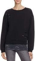 Generation Love Layered-Look Camo Sweatshirt - 100% Bloomingdale's Exclusive