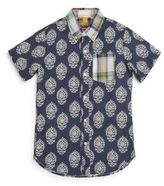 Tailor Vintage Little Boy's & Boy's Batik & Plaid-Print Sportshirt