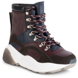 Stella McCartney Eclypse Chunky Lace-Up Hiking Boots