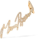 Stephen Webster Tracey Emin More Passion 18-karat Gold Diamond Ear Cuff - one size