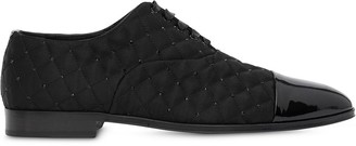 Burberry Embellished Quilted Derby Shoes