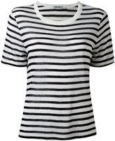 Alexander Wang striped T - women - Linen/Flax/Rayon - XS