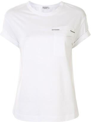 Brunello Cucinelli pocket detail T-shirt