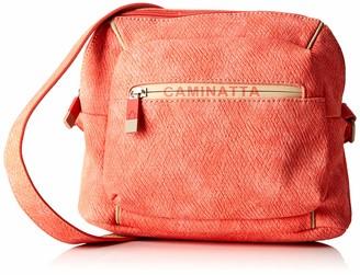 ctta caminatta Women's S1000 Cross-Body Bag Red Red (Coral 18)