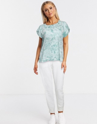 Blend She tye dye t-shirt in blue