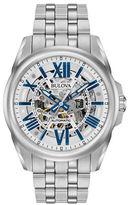 Bulova Automatic Stainless Steel Bracelet Watch