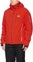 Helly Hansen Jacket Mens Alpha 2.0 Waterproof Breathable L Red 62531