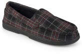 Perry Ellis Men's Portfolio Moccasin Slippers