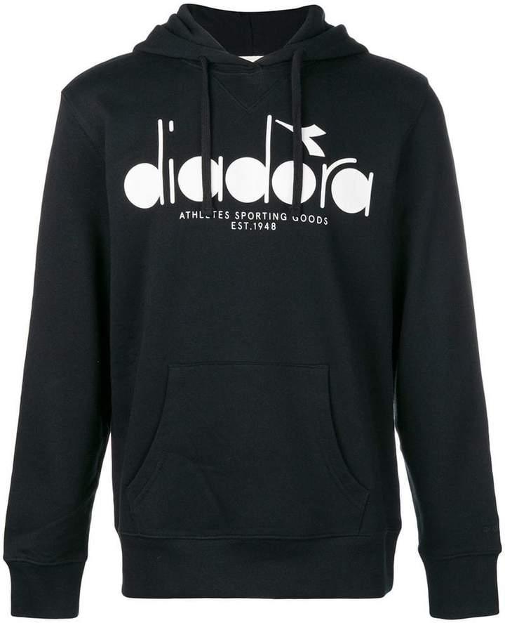 Diadora (ディアドラ) - Diadora ロゴプリント パーカー