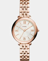 Fossil Jacqueline Rose Gold -Tone Analogue Watch