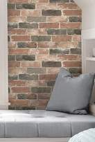 Brewster Home Fashions Newport Brick Reusable Peel & Stick Vinyl Wallpaper