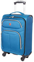 Swiss Gear Light Flyer 21-Inch Carry-On Spinner Suitcase