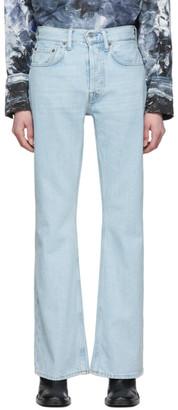 Acne Studios Blue Bla Konst Vintage Bootcut Jeans