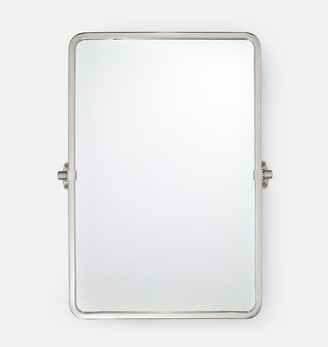Rejuvenation Tolson Rounded Rectangle Pivot Mirror