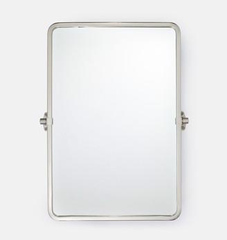 Rejuvenation Tolson Rounded Rectangle Pivot Mirror