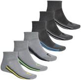Head Multicolor Tipping Socks - 6-Pack, Quarter Crew (For Men)