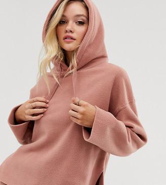 Micha Lounge oversized hoodie in fleece
