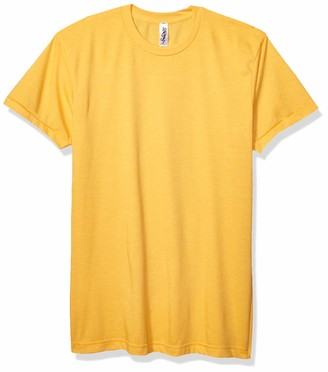 Marky G Apparel Men's Poly-Cotton Short-Sleeve Crewneck