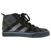 Burberry Grey Cloth Trainers