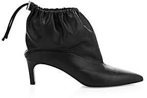 3.1 Phillip Lim Women's Esther Drawstring Leather Boots