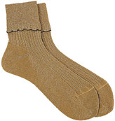 Antipast Women's Scalloped Mid-Calf Socks